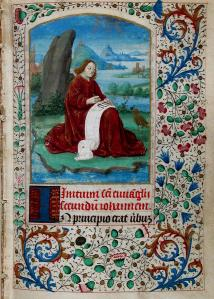 Book of Hours; 15th Century. Gift of James Fraser Gluck to the Buffalo Library, 1886. Gluck Manuscript Collection.