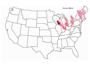 Blog map