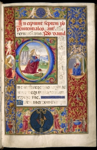 Prayerbook of Anne of Brittany (Florence, 1499) (Chicago, Newberry Library,  MS 83)