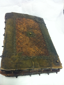 Choirbook, Byron Reed Collection, Durham Museum (Omaha, NB) (photo courtesy of the Durham Museum)
