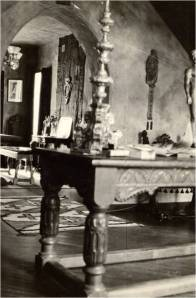 Interior of Gareth Hughes' Hollywood home, ca. 1926 (photo courtesy of Special Collections, University of Nevada-Reno)