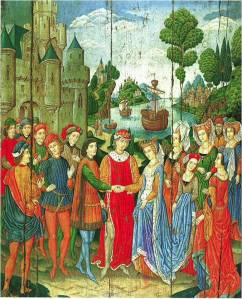 The Betrothal of St. Ursula (The Morgan Library and Museum, New York)