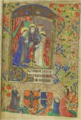 Matins, Hours of the Virgin (Mt. Angel Abbey, MS0030, f. 13)
