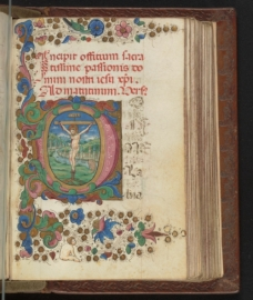 Stanford Univ. Special Collections, Florentine Book of Hours
