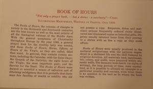 """Ege's """"Famous Books: Nine Centuries"""" letterpress label"""