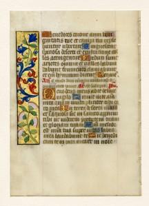 "Otto Ege, ""Fifty Original Leaves"" portfolio, Leaf 48v (Lilly Library)"