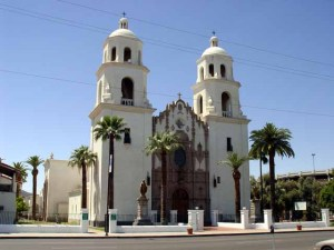 St. Xavier de Bac Mission, Tucson, Arizona (built in 1783)