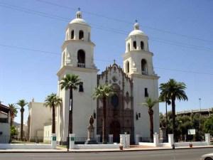 St. Xavier de Bac Mission, Tucson, Arizona (built in 1783)