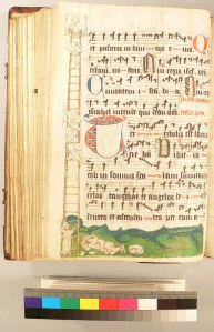 UCR MS 1, illustration of Jacob's Ladder
