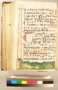 UCR MS 1, illustration of Jacob's Ladder