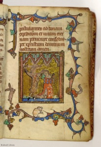 SMU, Bridwell Library MS 13, the Martyrdom of St. Thomas of Lancaster (f. 142)