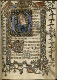 University of Houston, Reims Hours, f. 7