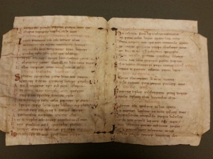 UIUC Special Collections, MS 128, Bede (and others), Epigrams