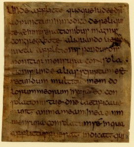 U. Missouri - Columbia, Ellis Library, Special Collections, Fragmenta Manuscripta 8