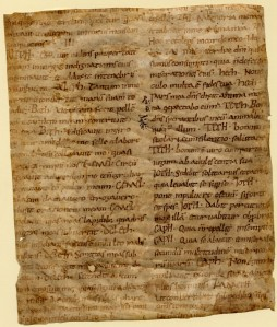 U. Missouri - Columbia, Ellis Library, Special Collection, Fragmenta Manuscripta 1