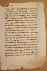 Gregory the Great, Homilies on Ezekiel, Italy, mid-13th century