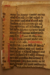 Leaf from a mid-15th-century Missal from Germany