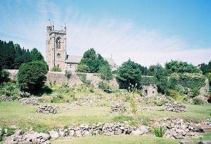 Ruins of Shaftesbury Abbey, Dorset