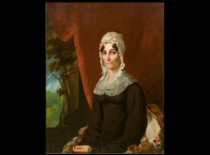 William Edward West (American 1788-1857), Portrait of Catherine Charlotte Surget Bingaman, 1818, oil on canvas, 36 x 29 in., Linton-Surget Collection, Newcomb Art Gallery, Tulane University