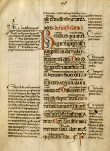 Glossed Psalter, France, s. XIII (Tulane University, Howard Tilton Memorial Library, s.n.)