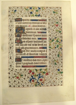 Smith College, Northampton, Mass., MS 42-5 recto