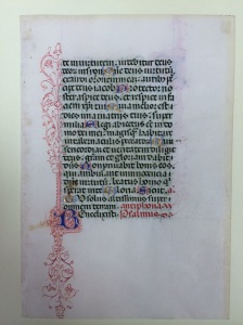 Book of Hours (Italy, s. XV) (Kennesaw University, Manuscript 12r)