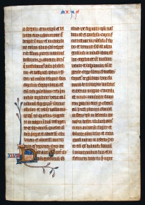 Dunedin Public Library, Reed Ms Frag. 13
