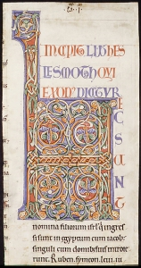 Cutting from a twelfth-century Bible (The Cloisters, acc. 1999.364.1)