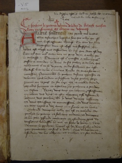 Brown University, Annmary Brown MS 1450?, -V5