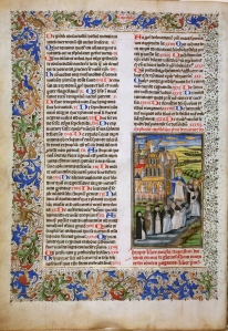 St. Augustine, De civitate dei (BPL MS f. Med. 10, f. 1v) (photo by James Marrow)