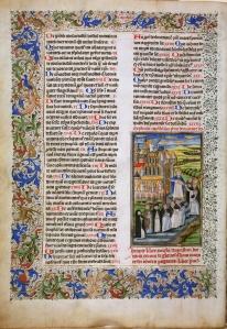 St. Augustine, De civitate dei (BPL MS f. Med. 10, f. 1v) (photo by James Marrow)