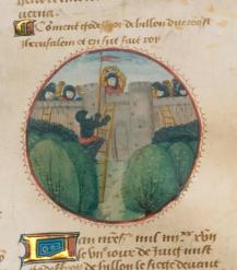 Godfrey of Bouillon conquers Jerusalem