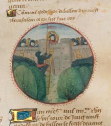 Godfrey of Bouillon conquers Jerusalem