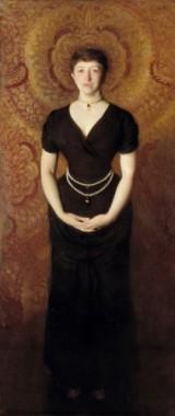 Portrait of Isabella Stewart Gardner (John Singer Sargent, 1856-1925) (1888), Isabella Stewart Gardner Museum