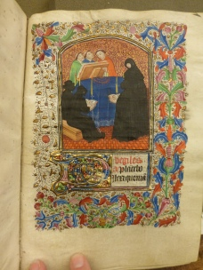 Funeral Service (Redwood Athenaeum, Wilson Hours, f. 125r)