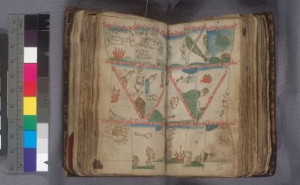 Psalms (Providence Public Library, Wetmore MS 1, ff. 35v/36)
