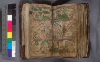 Genesis (Providence Public Library, Wetmore MS 1, ff. 7v/8)