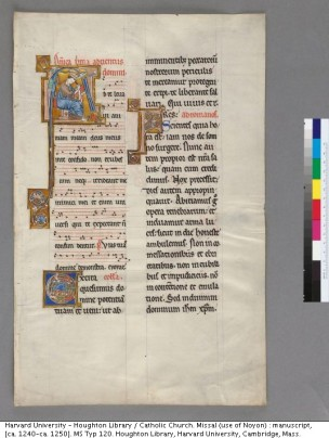 Houghton MS Typ 120 (leaf from the