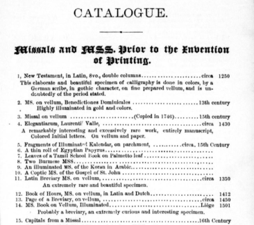 Caxton Catalogue p. 1